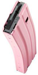 CPD 5/30-round Magazine for AR-15 Aluminum, Steel Pink?>
