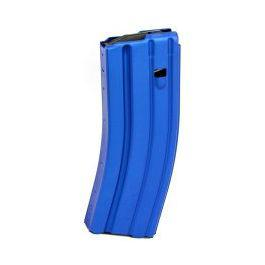 CPD 5/30-round Magazine for AR-15 Aluminum, Blue?>