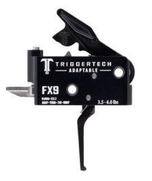 TriggerTech Pistol Caliber Carbines Triggers for FX-9 with Black Flat Lever, 3.5 - 6.0lbs?>