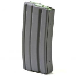 ASC 5/20-round Magazine for AR-15 Aluminum, Grey Teflon?>