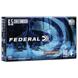 Federal Power Shok 6.5 Creedmoor 140gr 20rd. Box?>