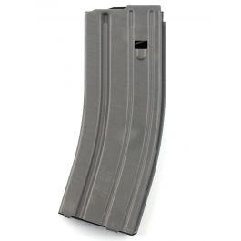 DURAMAG (by CPD) 5/30-round AR-15 5.56x45 Aluminum Magazine-Gray-Green follower?>