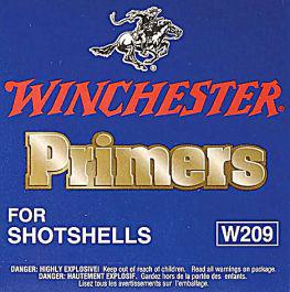 Winchester #209 Shotshell Primers, Box of 100?>