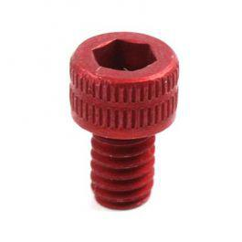 Gas Key Screw, Red-Anodized Aluminum?>