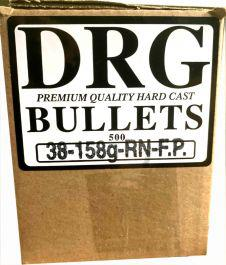 DRG 38/.357 Cal 158gr RNFP Bullets (500 Count)?>