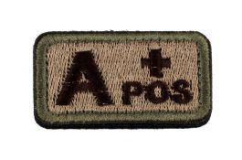 Medical Identification Blood Type Velcro Patch?>