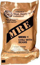 MRE's - Meal, Ready to Eat - US Army RATIONS, Self-Heating Survival/Camping Meals - Case of 12?>