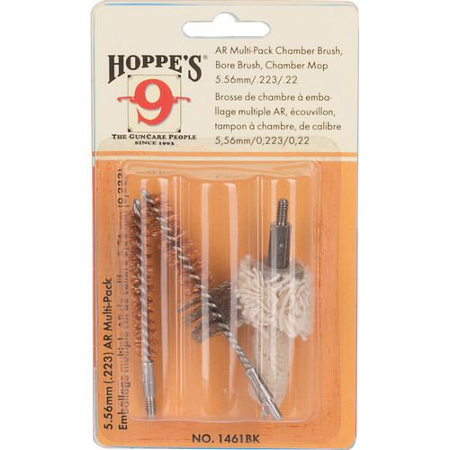 Hoppe's 3-Pack Brush and Mop Kit 5.56mm/.223 Calibers 1461BK?>