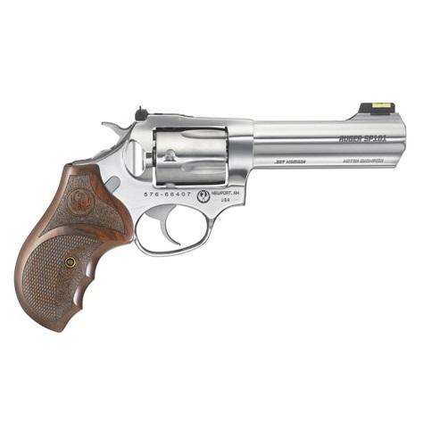 "Ruger SP101 Match Champion Double Action .357 MAG 4.2""BBL 5 Rds  Hardwood Stainless 5782?>"