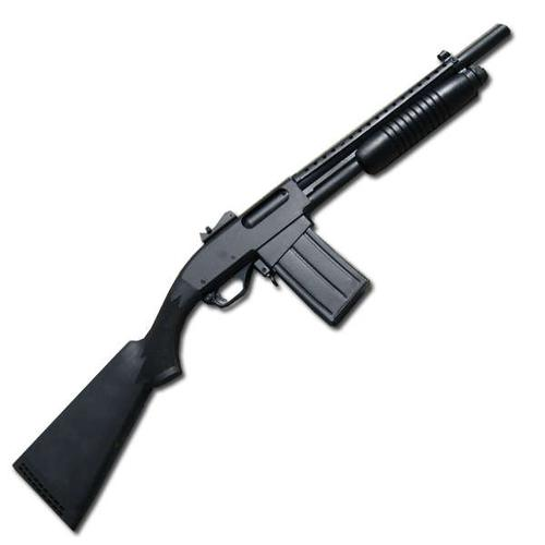 NORINCO PUMP ACTION SHOT GUN WITH DM 15″BBL?>