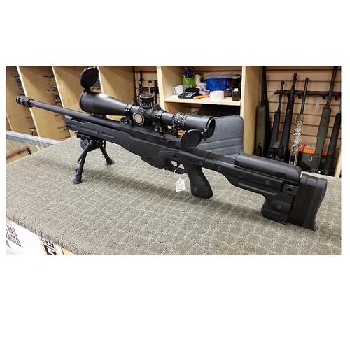 [EXCELLENT CONDITION] ACCURACY INTERNATIONAL ENGLAND .308 WIN W/NIGHT FORCE 5-25X56MM FI MRAD SCOPE?>