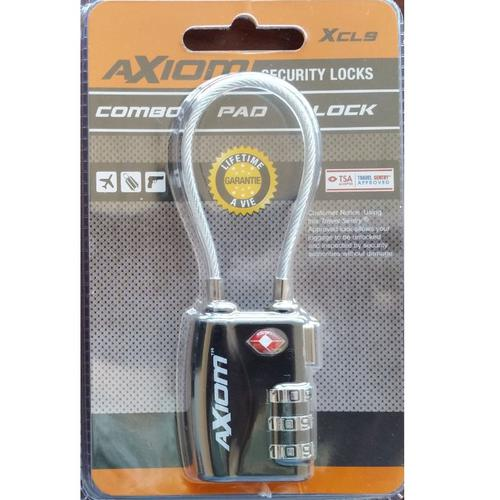 AXIOM XCL9 – Combination Padlock?>