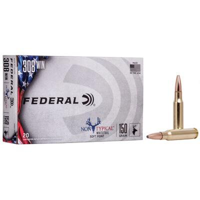 Federal Premium 308 Win 180 GR NON TYPICAL SOFT POINT 20Rds 308DT180?>