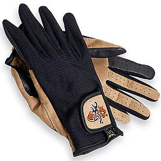 BROWNING-Gloves Meshback Tan/Black?>