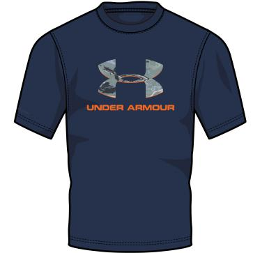 UNDER ARMOUR CAMO FILL LOGO CC T 1271828?>