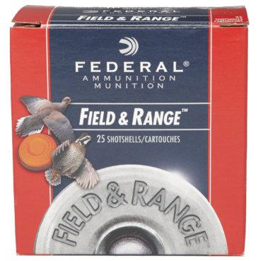 Federal, Field & Range,20 Ga, #8 #7.5  7/8oz 2 1/2drm  FRL208 FRL2075?>