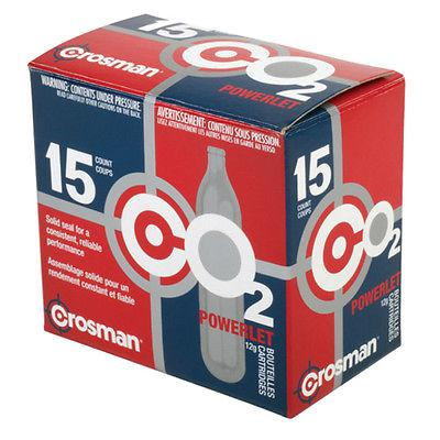 CROSMAN 12GA CO2 POWERLET 15COUNT COUPS C2315?>