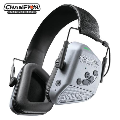 CHAMPION VANQUISH PRO ELITE ELECTRONIC HEARING EAR PROTECTION GRAY   40982?>