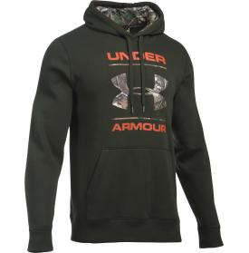 UNDER ARMOUR RIVAL CAMO FILL LOGO HOODIE 1291451?>