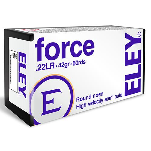 ELEY FORCE 22 LR AMMUNITION 42GR?>