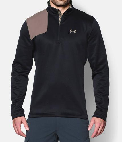 UNDER ARMOUR BORDERLAND 1/4 ZIP-BLK/SPE 1259204 001?>