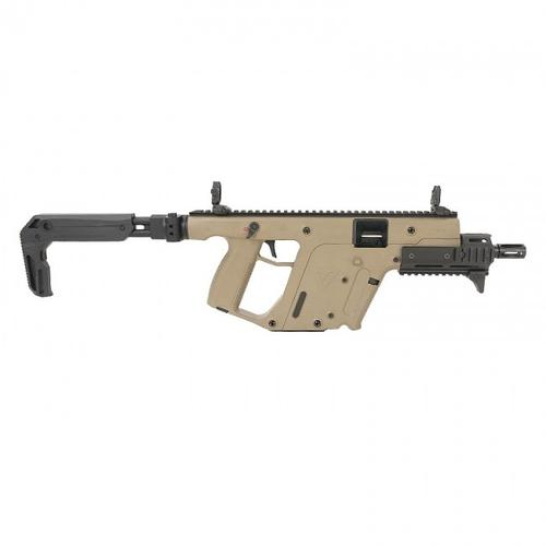 Kriss Vector SBR Enhanced 9mm 6.5″BBL FDE KV90-SFD30CA?>