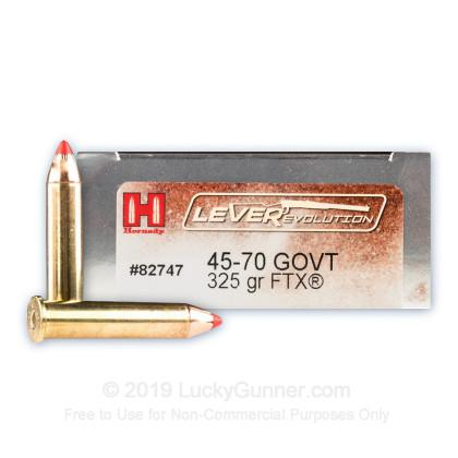 HORNADY 45-70 Government 325 gr FTX® LEVERevolution® 090255827477?>
