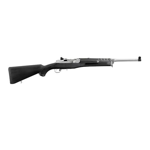 RUGER MINI-14 RANCH RIFLE, Stainless Steel Barrel, Black Synthetic Stock, 5805?>