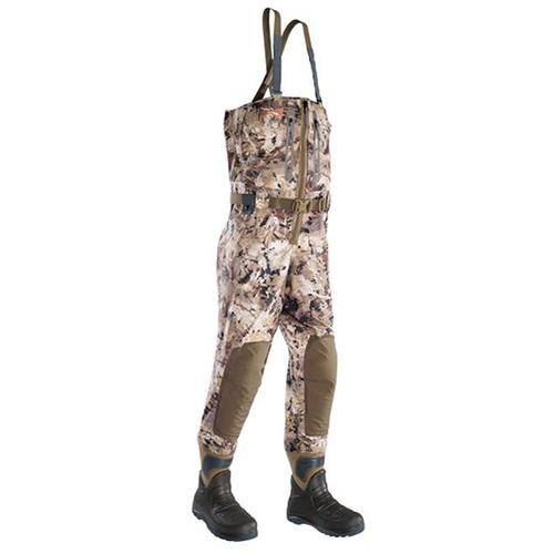 SITKA DELTA ZIP WADER OPTIFADE WATERFOWL MEDIUM 9 BOOT 50169-WL-M-9?>
