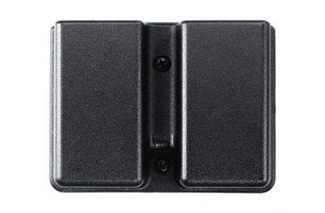 UNCLE MIKE KYDEX Double Mag Case BLK  Single Stack 51371?>