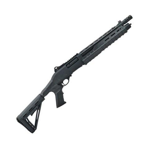 CANUCK COMMANDER PUMP ACTION SHOTGUN 12GA 4+1 14″ BBL BLACK/GREEN/BRONZE?>
