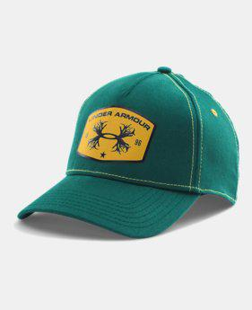 UNDER ARMOUR ANTLER PATCH CAP-PNE/OCH 1259249-306?>