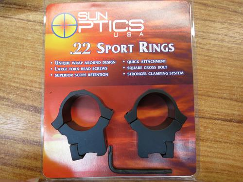 SUN PTICS .22 SPORT RINGS HIGH RING?>
