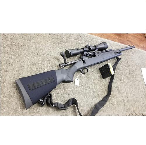 [EXCELLENT CONDITION] MOSSBERG MVP PATROL 7.62X51 NATO WITH ZEISS SCOPE LEUPOLD MOUNT?>