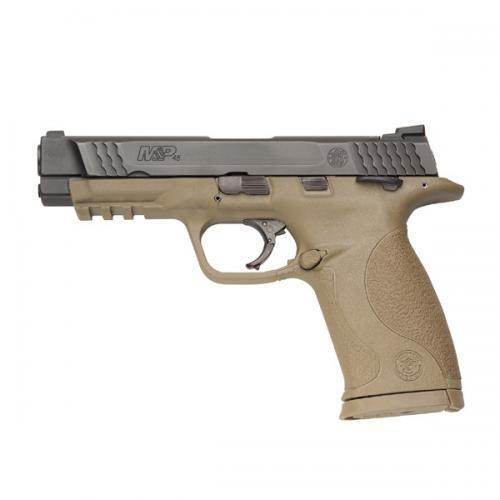 M&P®45 FLAT DARK EARTH THUMB SAFETY W/NIGHT SIGHT?>
