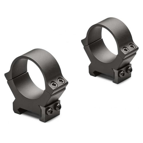 LEUPOLD PRW2 30 MM Steel rings, Low, MEDIUM, and High, Matte finish?>