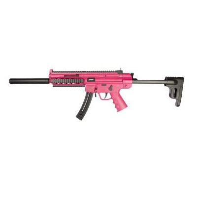 GSG 16 Semi Auto Rifle .22LR PINK NON-RESTRICTED?>