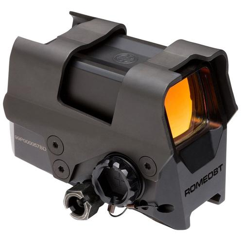 SIG SAUER ROMEO8T Red Dot Sight with Shroud 1x 38mm 1/2 MOA Adjustments SIGPSOR81002?>