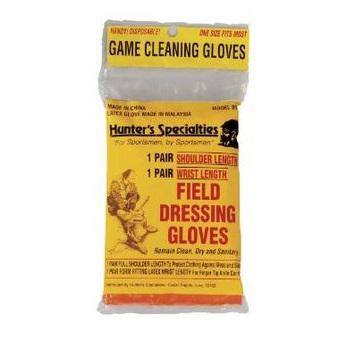 HUNTERS Hunters Field Dressing Gloves?>