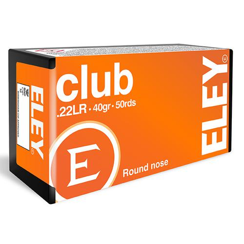 ELEY CLUB 22 LR AMMUNITION 40GR?>