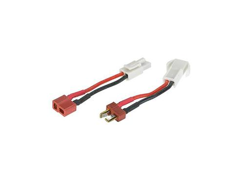 Emerson Power Switching Line T-Plug Field Palace Standard Deans to Mini Tamiya Adapter Set?>