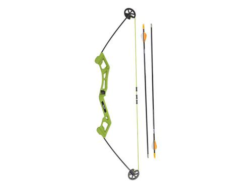 Bear Archery Valiant Youth Bow Set 7-16 lbs Flo Green?>