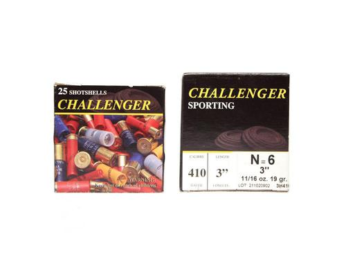 "Challenger Sporting .410 Gauge 3"" #6 Shot?>"