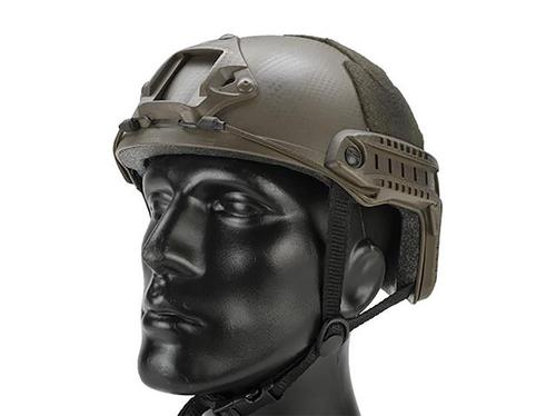 Matrix Basic High Cut Ballistic Type Tactical Airsoft Bump Helmet Tan Navy Seal?>