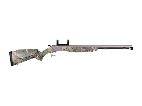 "CVA Optima V2 Muzzleloading Rifle 50 Caliber 26"" Fluted Barrel Synthetic Realtree Stock?>"