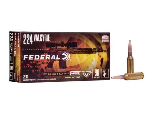 Federal Fusion 224 Valkyrie 90 Grain 20/Box?>