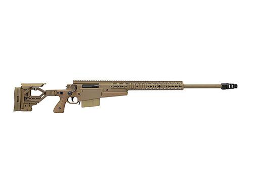 "Accuracy International AXMC .338 Lapua Mag. Pale Brown with 27"" Barrel and Tactical Muzzle Brake?>"