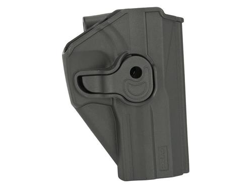 Cytac Hard Shell Adjustable Holster for USP and USP-C Pistols Black?>