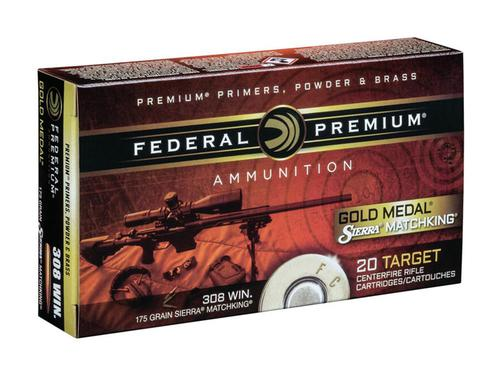 Federal Premium Gold Medal .260 Rem 142 Grain Sierra MatchKing Hollow Point Boat Tail Box of 20?>
