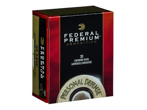 Federal Premium Personal Defense .40S&W 165gr Hydro-Shok JHP Box of 20?>